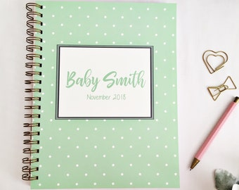Personalized pregnancy planner, mom to be gift, pregnancy tracker, maternity gift, pregnancy journal, gift for expecting mom, pregnant, gift