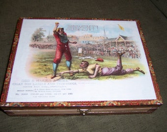 Judgment Cigar Box Baseball Stadium