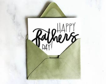 Happy Fathers Day notecard