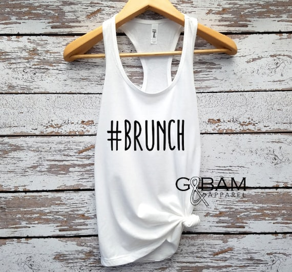 Brunch tank top / Brunch Top