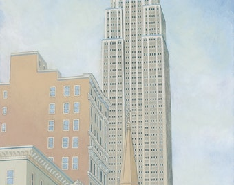 Empire State Building - Limited Edition Print