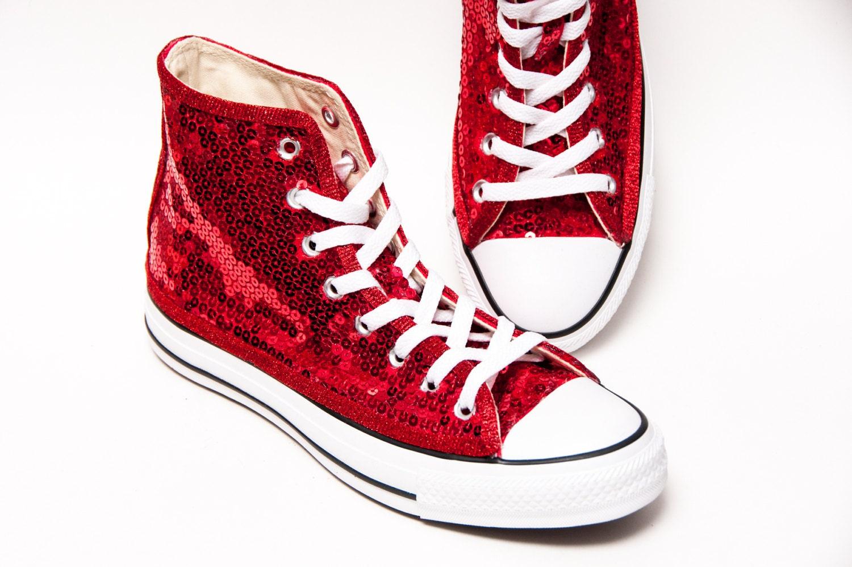 c9f8737e2ed8 usa converse red sparkle shoes 293bb 8056d