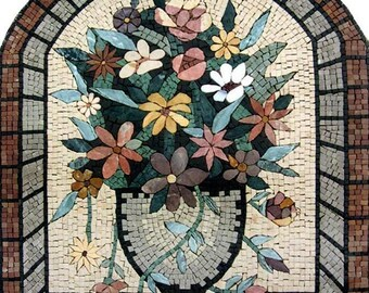 Flower Stones Mosaic