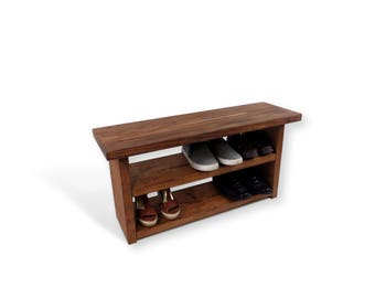 Foyer Bench Shoes : Storage bench entryway or mudroom shoe