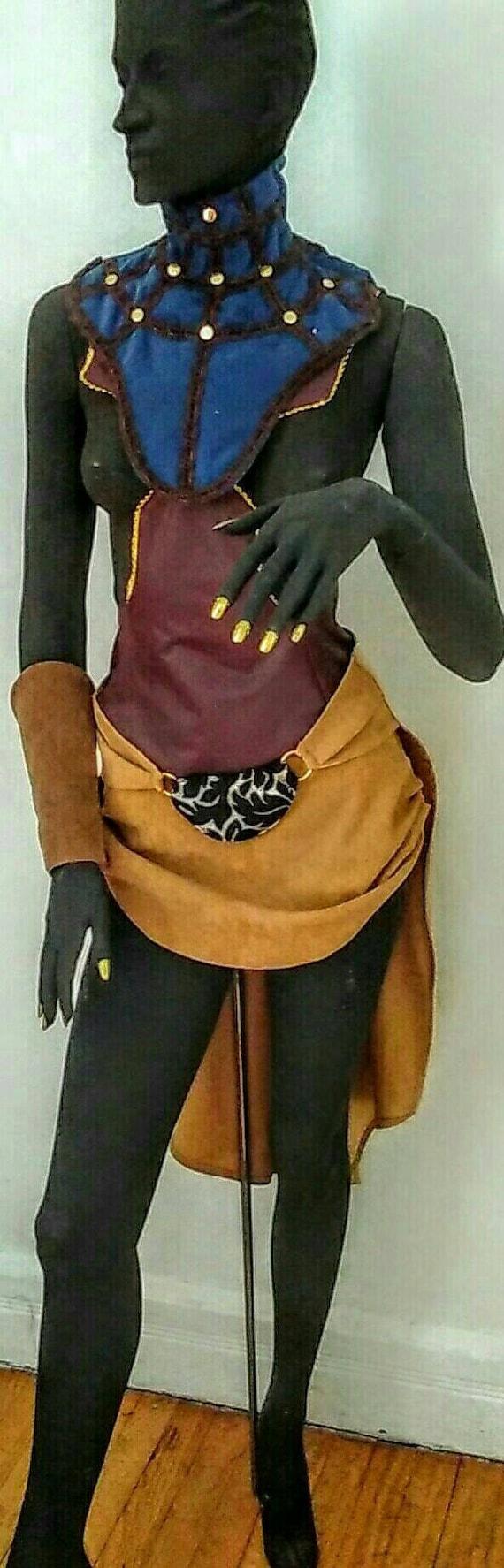 COSPLAYING SHURI CHARACTER - 6pc - Black Panther Character - Dora Milaje
