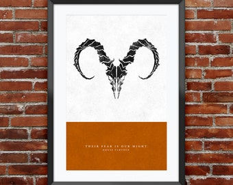 Game of Thrones - House Ulryden print 11X17""