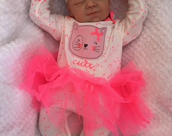 "Reborn baby doll girl Amber big newborn 22"" size rooted eyelashes bebe real realistic my fake baby childrens cheap doll"