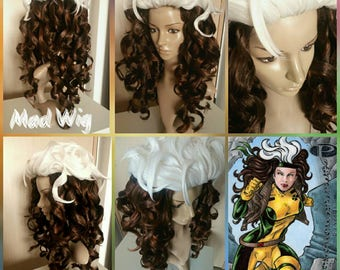 Rogue Marvel wig preorder commission (without green head bandage)preorder