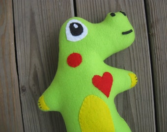 Imagine me an Alligator stuffed plush plushie green