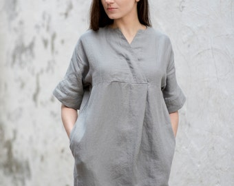 Linen Dress Motumo - 16S7