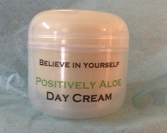 Day Cream from Positively Aloe is a light weight face cream made with Aloe Vera and has a natural SFP 15-30 protection.