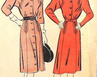 Advance 4072 dress, bust 34