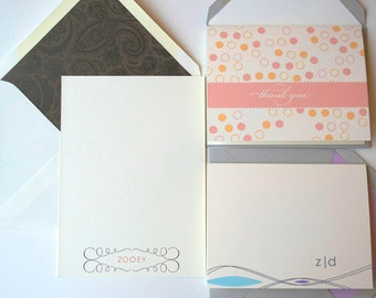 Stationery Gift Pack : Personalized Flat Notes