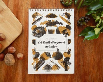 CALENDAR 2018 - fruits and vegetables - gourmet Collection & foodies
