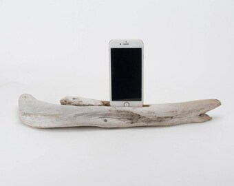 Docking Station for iPhone, iPhone dock, iPhone Charger, iPhone Charging Station, iPhone driftwood dock, wood iPhone dock/ Driftwood-No.1020