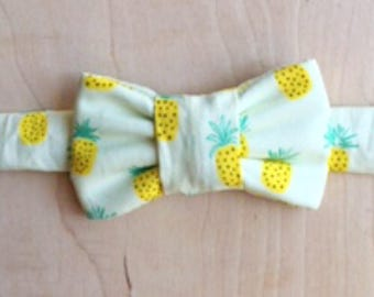 Pineapple Party Bow Tie for Cats