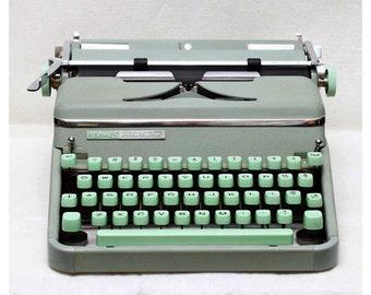 Hermes 2000 Vintage Typewriter 1950's rare!