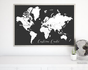 Wedding program editable template printable program diy word custom quote printable world map color me in large world map adult coloring page blank world map colour your travels map140 078 gumiabroncs Image collections