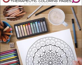 So Much Love Coloring Page OrnaMENTALs #0008 PDF