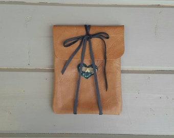 Summer. Solstice. Ritual. Kit. Handmade Genuine Leather