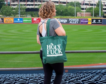 Holy Fuck that's expensive Whole Foods Parody Summer Festival Market Tote Bag (Green)