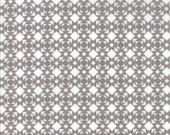Nest Fabric by Lella Boutiquee for Moda, #5064-17, Pebble, Cement, Stone, Grey - IN STOCK