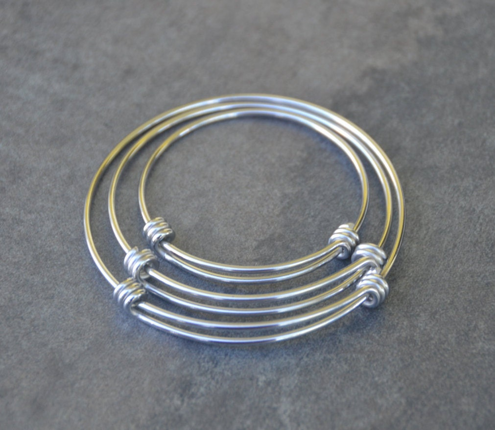 steel bangles bracelets tumbled charms sea bracelet wire lively and glass also wrapped surf expandable accents it fullsizerender onto maine with products stainless bangle charm genuine