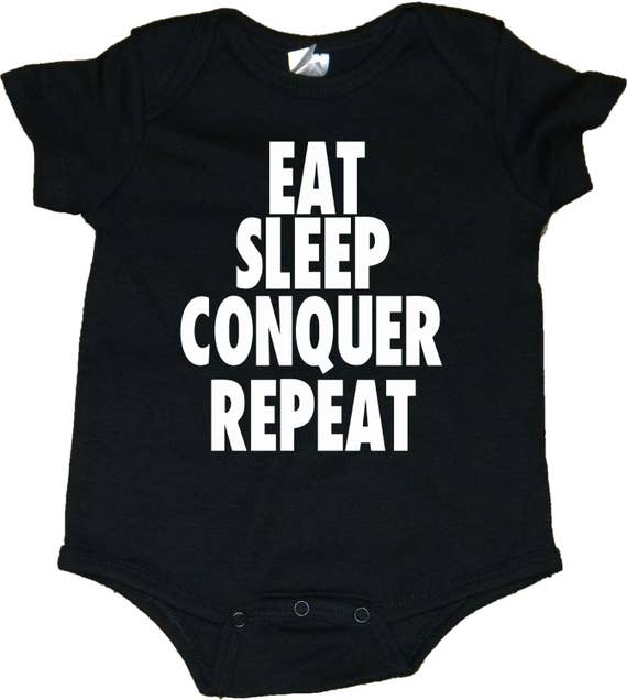 Brock Lesnar Eat Sleep Conquer Repeat Baby