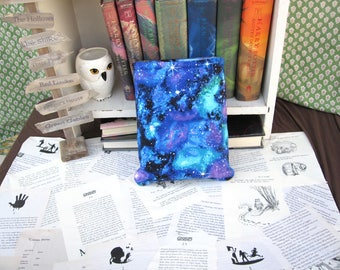 MAXI BOOK SLEEVE- Space Galaxy- Book Pouch, Book Protector