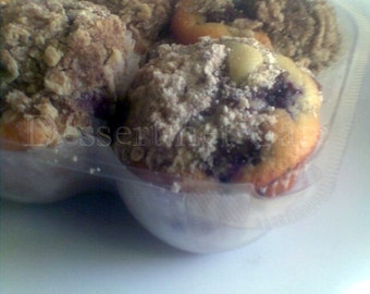 Black & Blue Berry Wheat Muffins