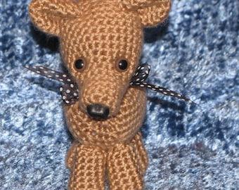 Crocheted Tiny Chihuahua