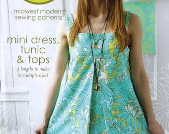 Amy Butler pattern ** Mini dress, tunic & tops ** Brand new and uncut!!