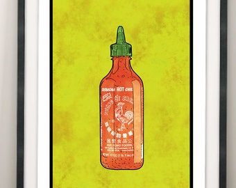 La Botella / Siracha / Hot Sauce / La Loteria