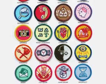 Alternative Scouting for Girls and Boys Merit Badges - SINGLE BADGES