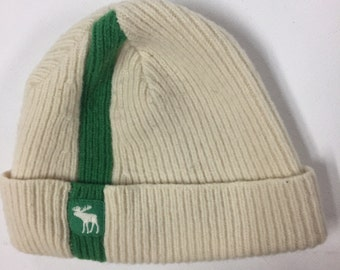 Vintage Abercrombie and Fitch Beanie 1960's wool watch cap