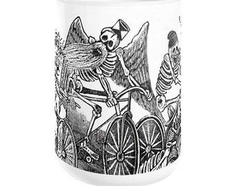 MUERTAS BICICLETA Coffee Mug, 11oz or 15oz