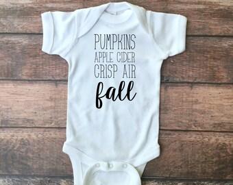 Fall Favorites Bodysuit or Toddler Tee