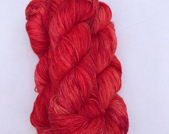 "BFL Sock Yarn - ""Li Hing Powder"""
