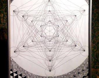 Sacred Geometry - (Metaronica) Original