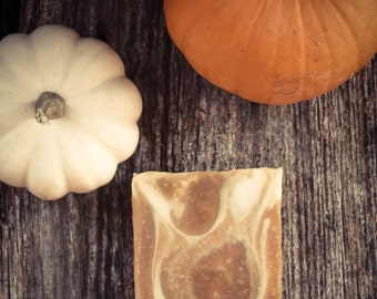 Pumpkin Spice Soap - Artisan, Cold Process Soap
