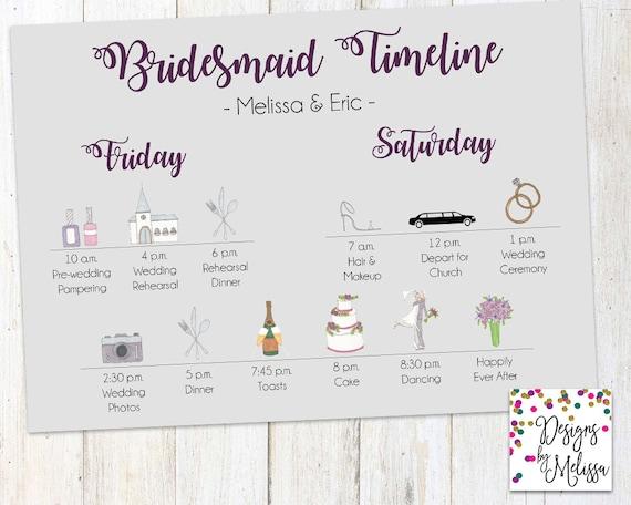 Wedding weekend timeline idealstalist wedding weekend timeline junglespirit Images