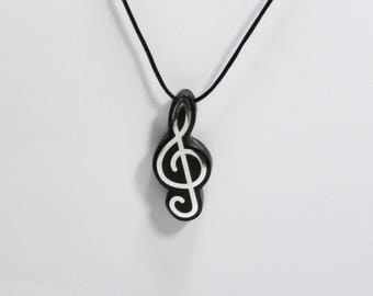 Perfect Gift PENDANT SOL Wooden High quality Handmade Jewelry by Rosewood, Ebony wood and Silver 925