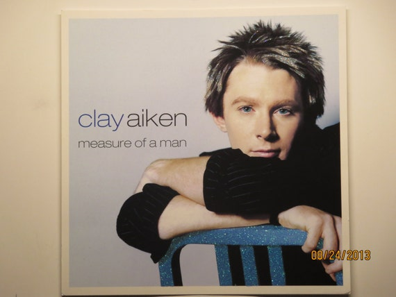 Glittered Poster - Clay Aiken - Measure of a Man