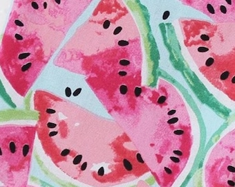 PREORDER Seedy Watermelon - Pet Bandana, Over-The-Collar Bandana, Pet Bowtie, Pet Collar, Summer Bandana, Watermelon Bandana