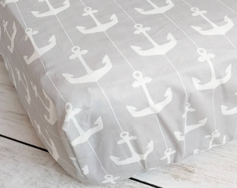Nautical Crib Sheet