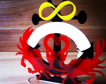 Crab Wedding Cake Topper, Maryland Blue Crab, Chesapeake Wedding, Maryland, Nautical Wedding *Original Design*