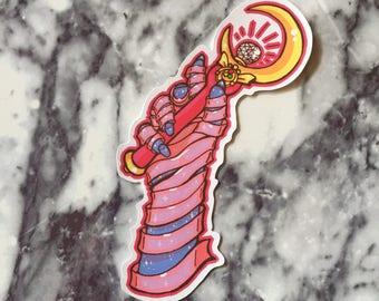 Moon Prism Power sticker