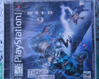 Wild 9 - Playstation - Factory Sealed - Box 1