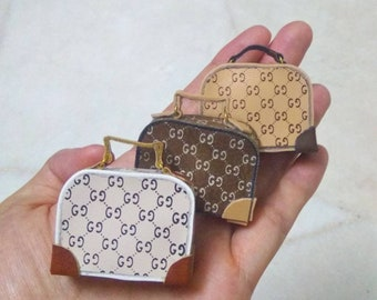 Luxurious handbags for Barbie, Blythe, and other 12 inch dolls