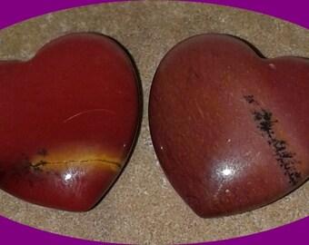 Mookaite Jasper Heart
